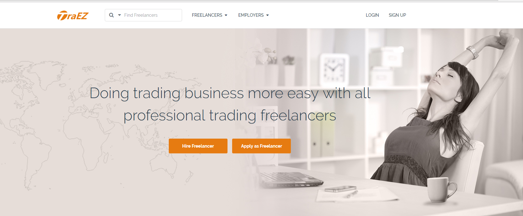 TraEZ: Hire trade expert to help on sourcing, inspection and other trade services for your International Business