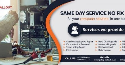 PcKey Callout Provides Secure and Professional Computer Repair Service at Affordable Prices