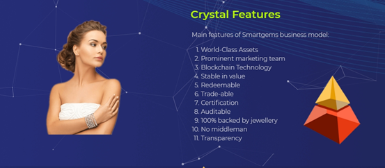 Smartgems will be launching its stable coin SGSS on 1st November 2018. Soft launching for accredited members only.
