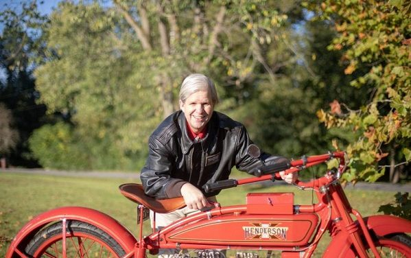 Experience an Author's Journey 4,500 miles Across America on a 100-Year-Old Henderson Motorcycle as Chronicled in New Book